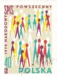 Stamps Poland -  CENSO NACIONAL