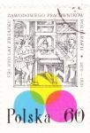 Stamps Poland -  OFICIO MEDIEVAL