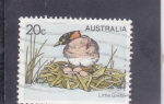 Stamps of the world : Australia :  AVE- little grebe