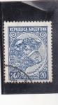 Stamps Argentina -  GANADERÍA