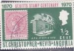 Stamps  -  -  ST.CRHISTOPER NEVIS-intercambio