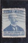 Sellos de America - Cuba -  Juan Fco. Steegers