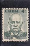 Stamps Cuba -  Fco. Dominguez Roldan