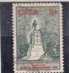 Stamps : America : Cuba :  estatua