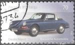 Sellos del Mundo : Europa : Alemania : Coches Clásicos,Porche 911 Targa,1965(b).
