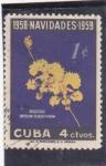 Sellos del Mundo : America : Cuba : FLORES- orquideas