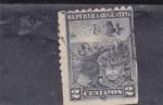 sellos de America - Argentina -  campesina