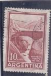 Stamps of the world : Argentina :  Mendoza puente del inca