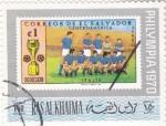 Sellos de Asia - Emiratos Árabes Unidos -  futbol-selección de Italia PHILYMPIA