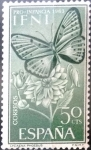 Stamps : Africa : Morocco :  ifni - 196 - Anthocharis eupheno