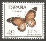 Stamps : Africa : Morocco :  ifni - 222 - Mariposa danaus chrysippus