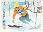 Sellos del Mundo : Asia : Emiratos_Árabes_Unidos : JUEGOS OLÍMPICOS SAPPORO,72