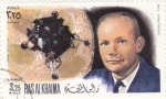 Stamps United Arab Emirates -  AERONAUTICA- NEIL ARMSTRONG