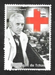 Stamps : Africa : Chad :  Fleming, descubridor de la penicilína
