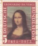 Stamps Germany -  La Gioconda-Leonardo Da Vinci