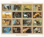 Sellos del Mundo : Asia : Emiratos_Árabes_Unidos : ANIMALES SALVAJES
