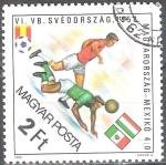 Sellos de Europa - Hungría -  Copa Mundial de Fútbol, España,1982.