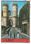Stamps of the world : United Arab Emirates :  GENOVA-COLUMNAS