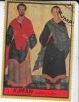 Stamps United Arab Emirates -  SAN COSME Y DAMIÁN