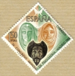 Stamps : Europe : Spain :  IV Congreso de Psiquiatria