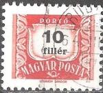 Stamps Hungary -  Franqueo debido.