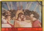 Sellos de Asia - Emiratos Árabes Unidos -  VIDA DE JESÚS