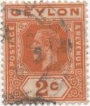 Sellos de Asia - Sri Lanka -  Ceylan_UK Y & T Nº 178a