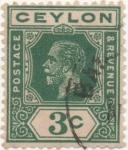 Sellos de Asia - Sri Lanka -  Ceylan_UK Y & T Nº 179 (1)