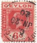 Sellos del Mundo : Asia : Sri_Lanka : Ceylan_UK Y & T Nº 181 (1)