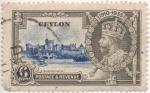 Sellos del Mundo : Asia : Sri_Lanka : Ceylan_UK Scott Nº D301