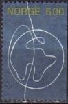 Stamps : Europe : Norway :  NORUEGA 2004 Scott 1393 Sello de Persona a Persona Globo Terraqueo Usado