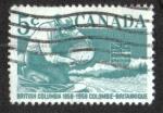 Sellos del Mundo : America : Canadá : Centenary of British Colombia
