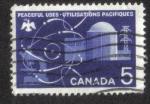 Sellos del Mundo : America : Canadá : Los usos pacíficos de la energía atómica