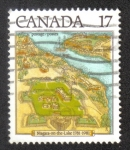 Sellos de America - Canadá -  Bicentenario de Niágara en el lago