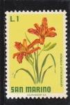 Stamps : Europe : San_Marino :  FLORES-