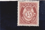 Stamps Norway -  cifra
