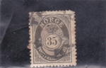 Stamps : Europe : Norway :  cifra