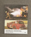 Stamps Argentina -  Bomberos
