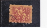 Stamps Portugal -  CABALLERO MEDIEVAL
