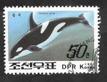 Stamps North Korea -  Orca