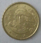 monedas de Europa - Italia -  2011 - 10 centavos de euro