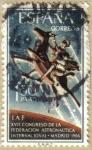 Stamps : Europe : Spain :  XVII Congreso de la Federacion Astronautica Internacional