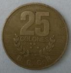 monedas de America - Costa Rica -  1995 - 25 colones