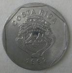 monedas de America - Costa Rica -  1992 - 10 colones