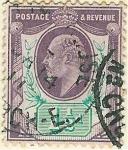 Stamps United Kingdom -  Efigie de Eduardo VII