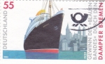 Stamps Germany -  TRANSATLANTICO