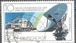 Sellos de Europa - Alemania -  Transmisión de mensajes en el cable - y conexión inalámbrica (DDR).