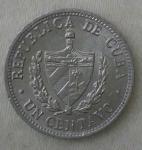 monedas de America - Cuba -  1982 - 1 centavo