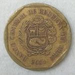 monedas de America - Perú -  2004 - 10 centimos