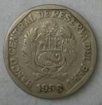 monedas de America - Perú -  1996 - 50 centimos